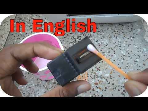 How to clean blocked / clogged hp cartridge without ink suction tool |HP803, HP802, HP678|