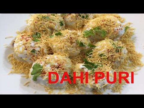 How To Make Delicious Mumbai Chaat Dahi Puri | Dahi Puri Recipe | Mumbai Street Food| Road Side Chef