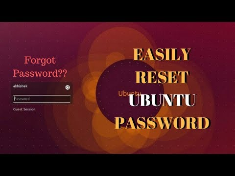 How to Reset User Password in Ubuntu and Other Linux Distributions