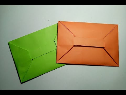 Paper Envelope - Easy Origami Envelope Without Glue or Tape – How to Make a Paper Envelope Easily