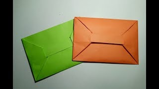 How to make a Paper Envelope without Glue | DIY Origami - YouTube | 180x320
