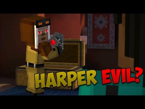Minecraft Story Mode Episode 8: IS HARPER EVIL?!