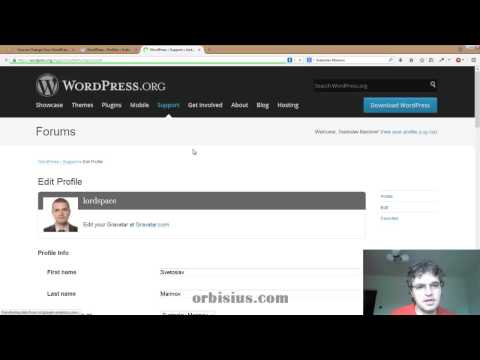 How to Change Your WordPress org Password or Email