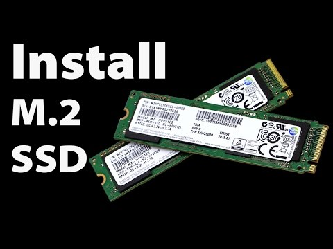 How to Install Windows on an M.2 SSD 960 Pro, 950 Pro, SM951