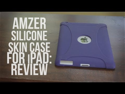 Amzer Silicone Skin Case for iPad: Review [iPad 2,3 &4]