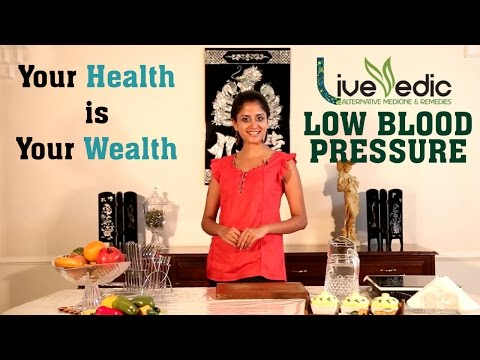 DIY: Low Blood Pressure Treatment with Natural Home Remedies | LIVE VEDIC