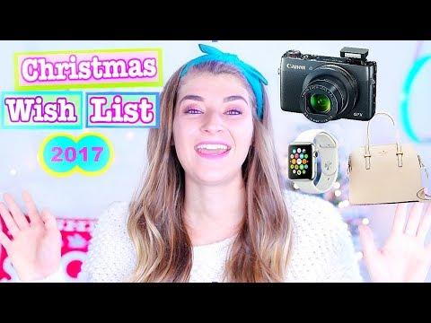 Christmas Wishlist 2017/ Teen Gift Guide Part 2!