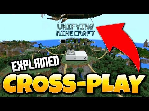 Minecraft CROSS-PLAY EXPLAINED! BETTER TOGETHER UPDATE- Windows 10, Xbox One, Switch & More