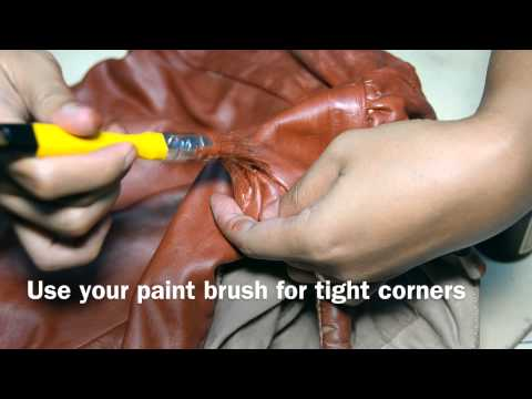 How to restore your old leather handbag with Kulay Leather Paint