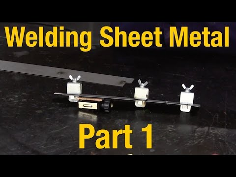 How To Weld Sheet Metal - Part 1 of 2 - Welding Sheet Metal Basics with Eastwood