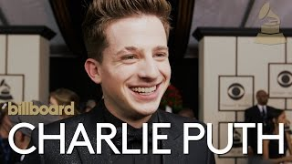 Download Charlie Puth: The 2016 GRAMMYs Red Carpet interview   billboard Video