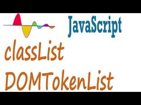 JavaScript Tutorial - classList - add, remove or toggle class
