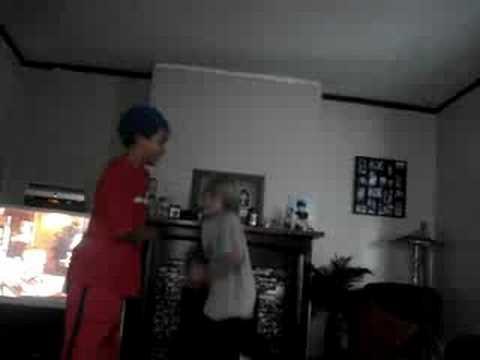 stupid kids playing hot potato and dancing