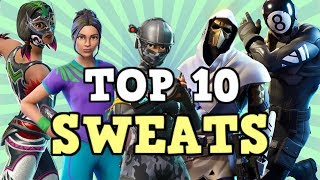 Top 10 Sweatiest Skin Combos In Season 11! (Fortnite)