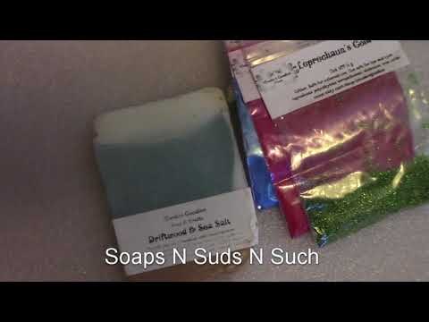 February Happy Mail Soap and Mica, Soaping Supplies, Soap making colorant