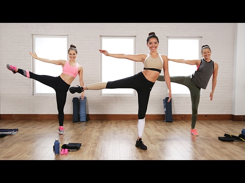 The 40-Minute Boxing and Toning Workout Victoria's Secret Models Love | Class FitSugar
