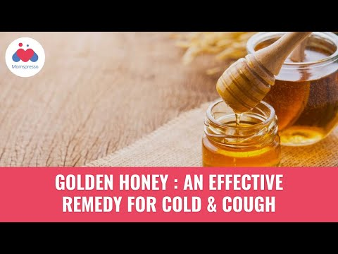 Golden Honey : An Effective remedy for cold and cough