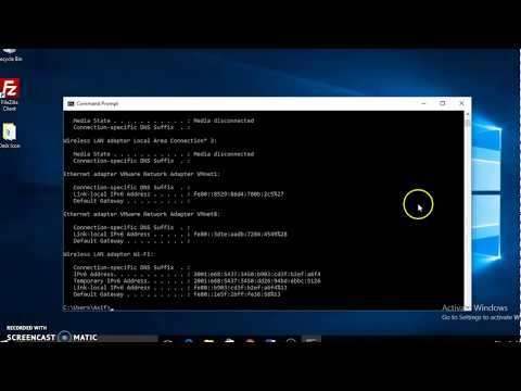 How to Release and Renew IP using command prompt