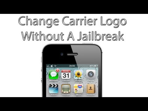 How To Change Your Carrier Logo Without A Jailbreak