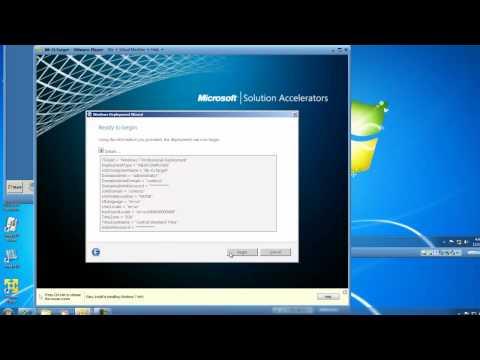 Deploy Windows 7 Image using Microsoft Deployment Toolkit 2010
