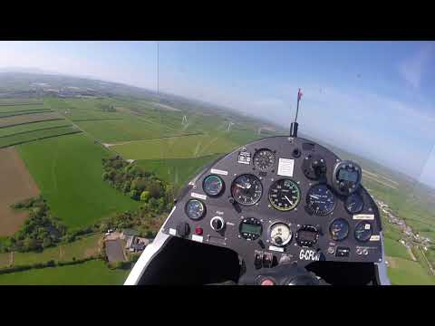Gyrocopter Flying
