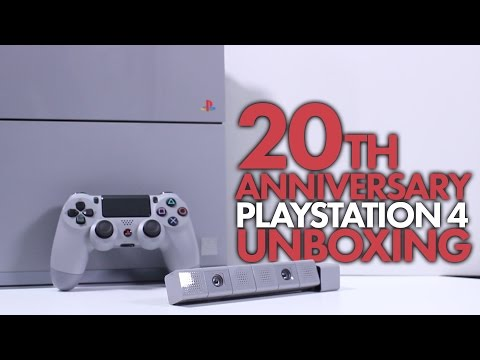 20th Anniversary PlayStation 4 Unboxing!
