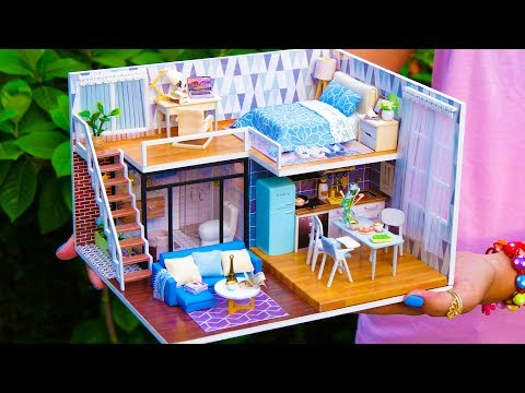 5 DIY Miniature Doll House Rooms #3