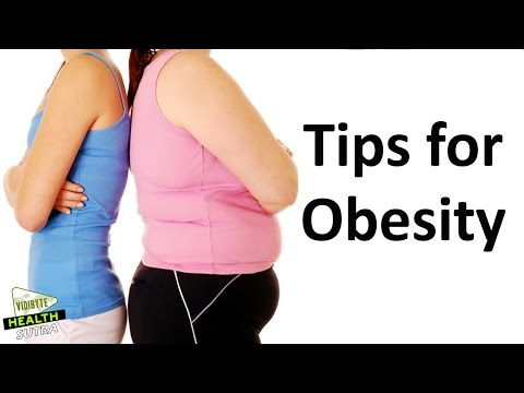 6 Ways To Prevent Obesity || Weight loss Tips