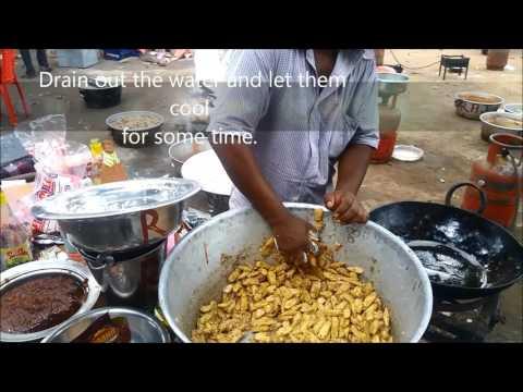 Crispy Babycorn made in ceremony:Indian recipe
