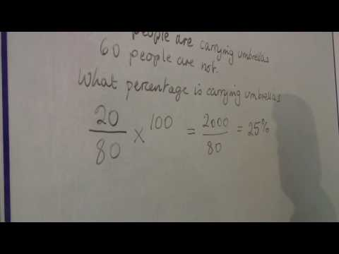 Math Calculations & Conversions : Finding a Percentage of 2 Numbers