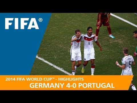 GERMANY v PORTUGAL (4:0) - 2014 FIFA World Cup™