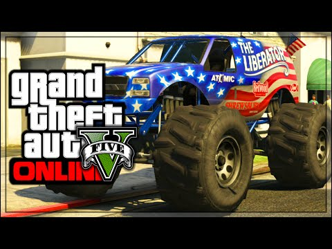 GTA 5 Online - How To Store *MONSTER TRUCK* In Your Garage! Patch 1.22 (GTA 5 Gameplay)