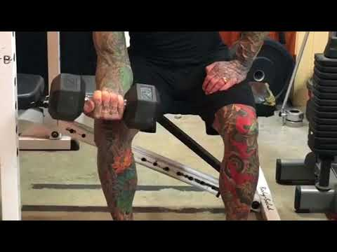 How to do a wrist curl properly
