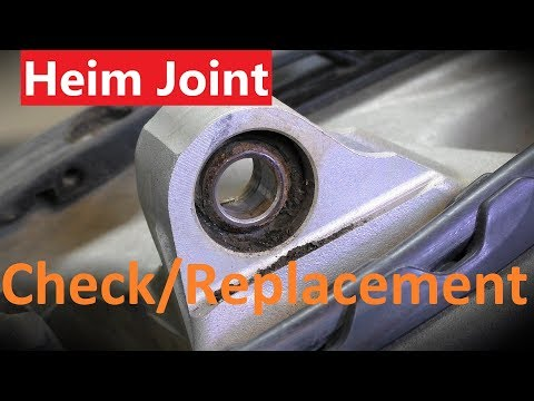 KTM Lower Heim Joint Shock Bearing Replacement & Check for