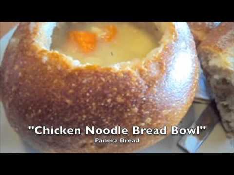 Chicken Noodle Bread Bowl at Panera Bread
