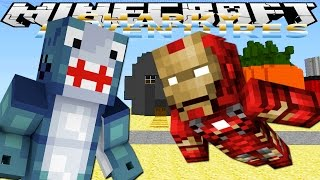 Minecraft Adventures - Sharky & Scuba Steve -MINEVENGERS VISIT BIKINI BOTTOM