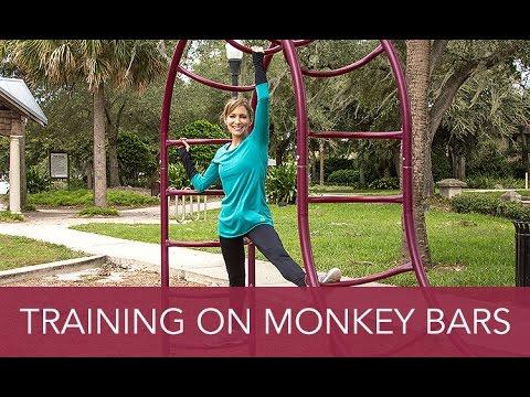 Training on the Monkey Bars