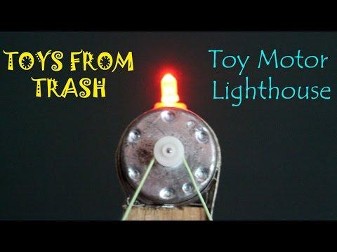 Toy Motor Lighthouse | Hindi