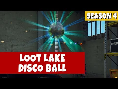Fortnite Dance With Others to Raise Disco Ball Near Loot Lake - Season 4 Week 5 Challenges