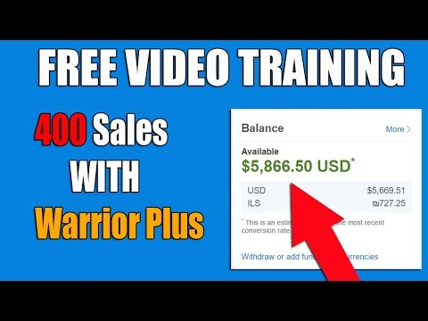How To Promote Warrior Plus Product Link And Get 400 Sales