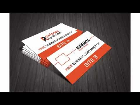 Free Download Photo Real Business Card Mockup