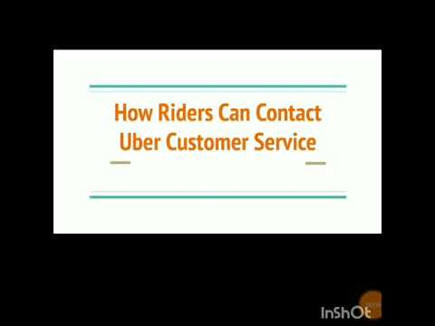 Contact Uber Support - Customer Service to Report Issues
