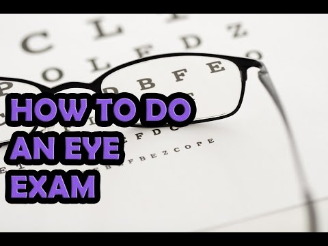 Eye Exams For Contact Lenses |Contact Lens Measurement | New Video 2017