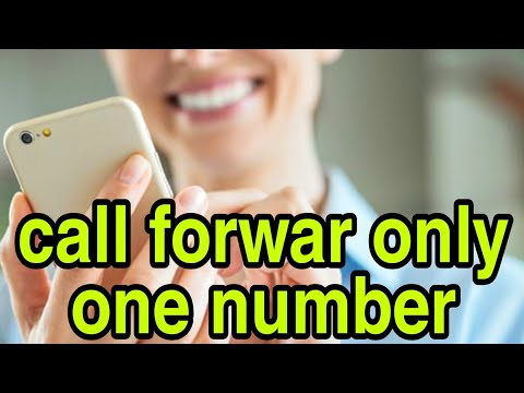 call forward only one number android || call forward explained || 100% working