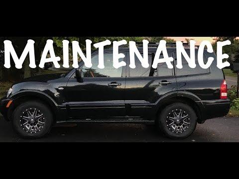 Mitsubishi Montero Limited 3.8L V6 HOW TO remove radiator and belt