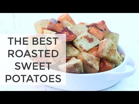 How To Make Roasted Sweet Potatoes | EASY Thanksgiving Recipe