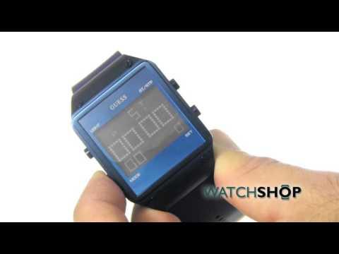 Guess Men's Radar Alarm Chronograph Watch (W0595G2)