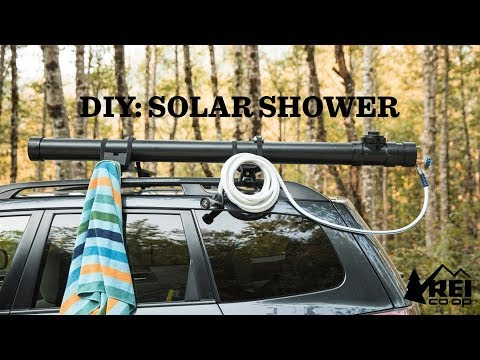 DIY: Car-top 'Solar' Camp Shower | REI