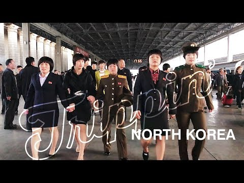 How to get INTO North Korea (Train from Beijing to Pyongyang) -TRIPPIN'