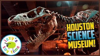 Download Izzy's Toy Time Learns at the Houston Natural Science Museum! Fun Family Trip for Kids! Video